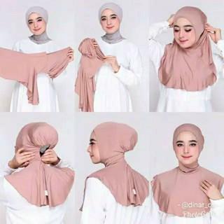 Khăn Trùm Đầu Hijab Pashmina