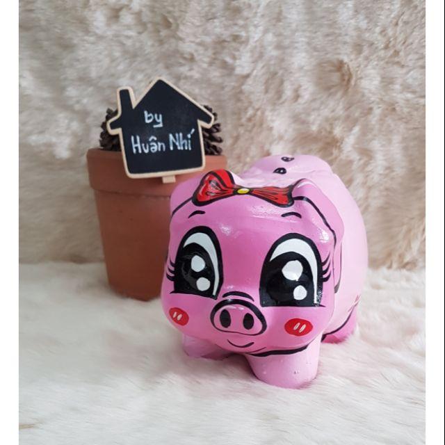 Heo đất handmade – heo Pinky