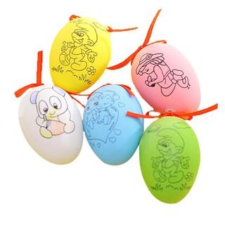 Tiền mặt khi giao hàng DIY đầy màu sắc Trứng sơn bằng tay Làm đồ chơi trứng Đồ chơi giáo dục trẻ em