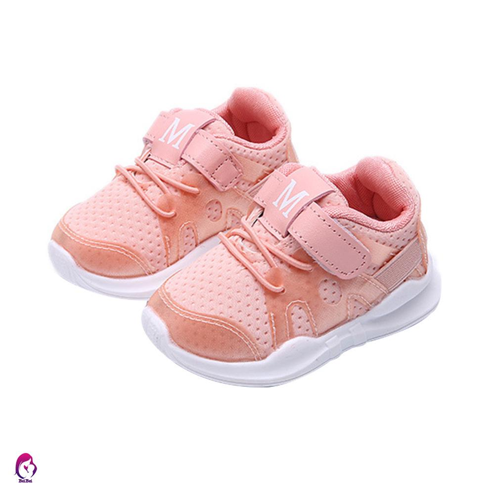 ♦♦ Baby Boys Girls Sports Shoes Wear-resistant Anti-slip Breathable Casual Shoes for Autumn