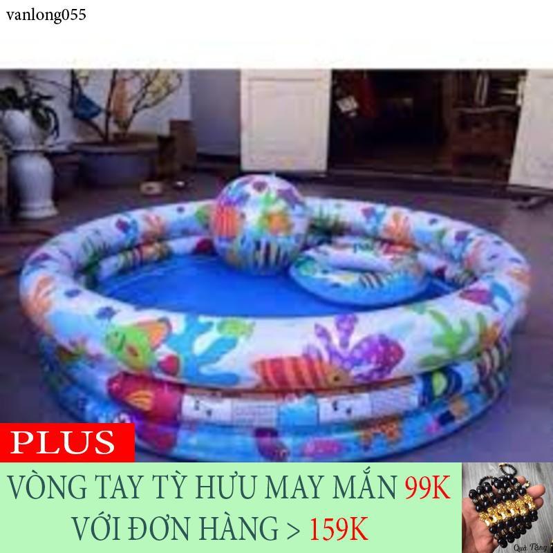 [XẢ KHO] Bộ bể bơi 3 chi tiết Intex tặng kèm bóng + phao - 13862505 , 2133296672 , 322_2133296672 , 290145 , XA-KHO-Bo-be-boi-3-chi-tiet-Intex-tang-kem-bong-phao-322_2133296672 , shopee.vn , [XẢ KHO] Bộ bể bơi 3 chi tiết Intex tặng kèm bóng + phao
