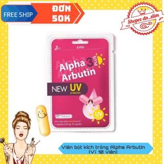 Túi Bột Kích Trắng Chống Nắng Alpha Arbutin 3Plus thumbnail