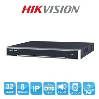 Đầu ghi hình Camera Ip 32 kênh DS-7632NI-K2 Hikvision chính hãng