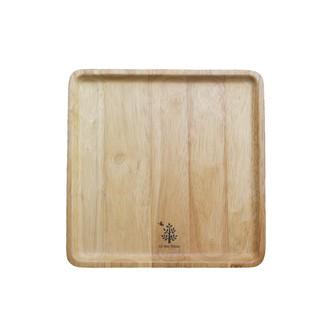 Dĩa gỗ vuông |size lớn | Gỗ Đức Thành - 02546