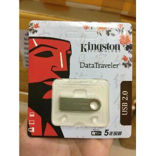 [Mã ELFLASH5 giảm 20K đơn 50K] USB chống nước 2.0 Kingston DTSE9 - 8GB - Hàng chính hãng