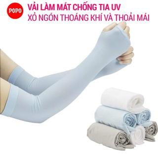 Ống tay chống nắng xỏ ngón, chống tia UV POPO đa năng dùng cho các hoạt động thể thao dã ngoại thumbnail