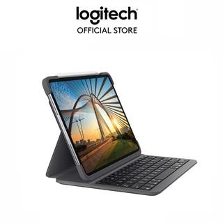 Bao da kèm bàn phím Logitech Slim Folio Pro dành cho iPad Pro 11inch và 12.9 inch (2020) thumbnail