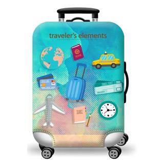 Túi bọc vali co giãn cao cấp mẫu H109 [ Hàng có sẵn ] thumbnail