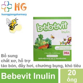 Bebevit Inulin - Bổ sung chất xơ cho bé (Hộp 20 ống) thumbnail
