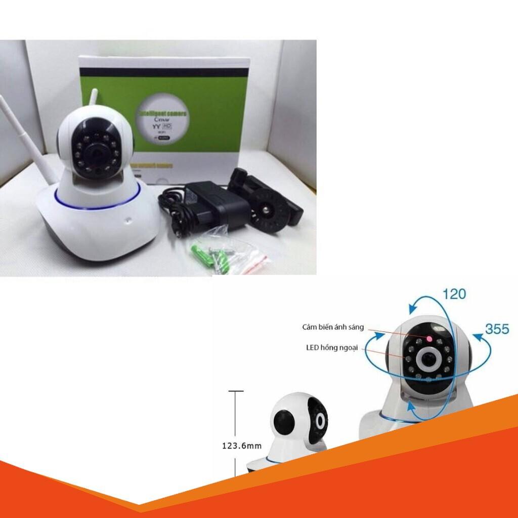 [SALE SẬP SÀN] Camera giám sát IP Yoosee chính hãng chuẩn HD kết nối wifi ( không cần dây mạng)
