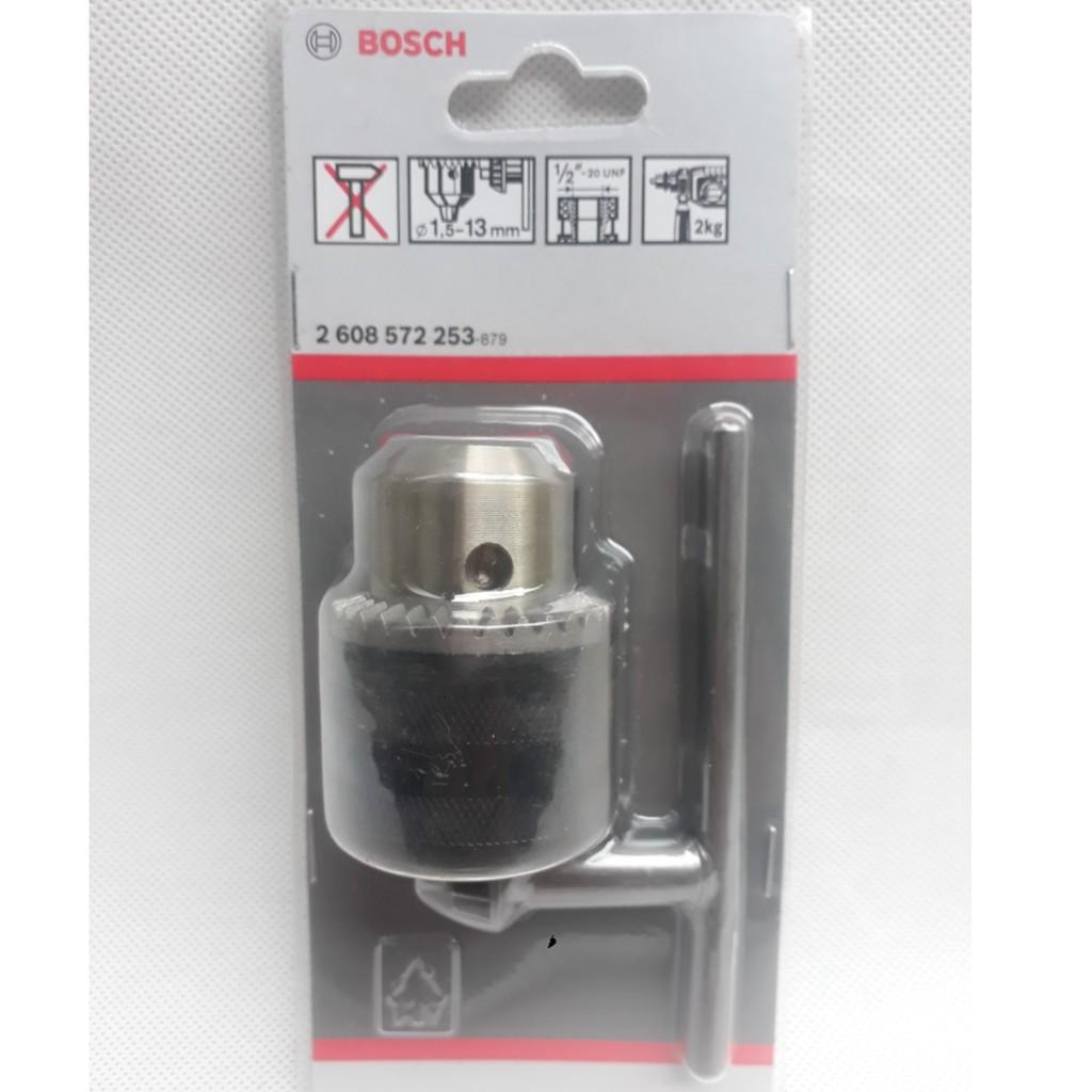 Đầu khoan có khóa 13mm Bosch 2608572253