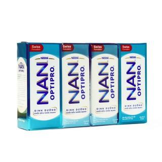 Kiet07 Thực phẩm bổ sung sữa tiệt trùng NAN Optipro 185ml – Lốc 4 hộp Kiet07