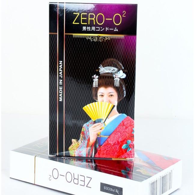 [Bán sỉ ]Bao cao su Zero O2 nhập khẩu nhật hộp 12c cam kết chính hãng giá tốt