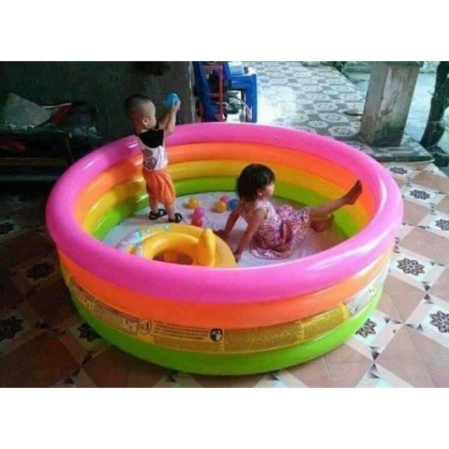 bể bơi cầu vòng 1m48