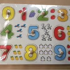 [GIÁ RẺ VÔ ĐỊCH] - Bảng 10 số tập đếm cho bé 020 có núm
