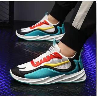 Giày Thể Thao Nam Đế Sóng 3D Vải Lưới Điều Hòa Thoáng Khí Tăng chiều cao thumbnail