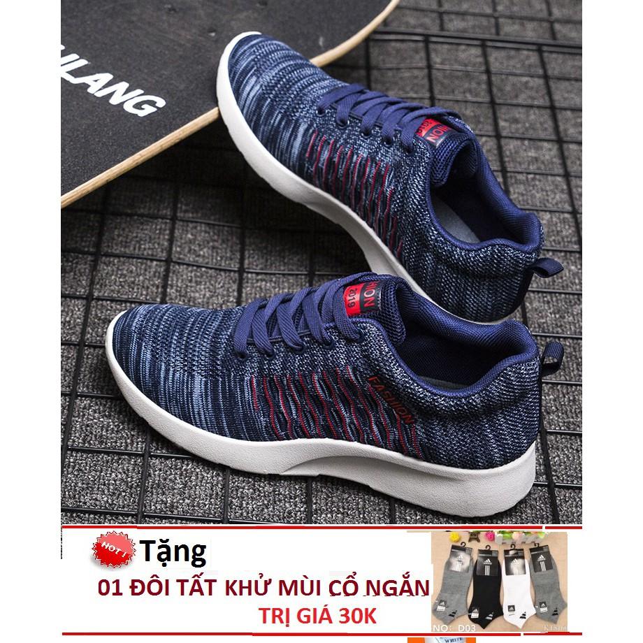 Giày Sneaker Thể Thao Nam HiNiTi H01 Dáng Đẹp- Năng Động Tặng Tất