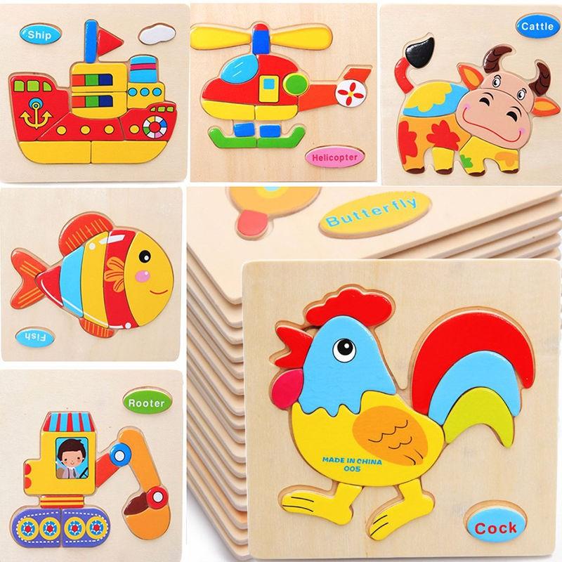 Thẻ học tiếng anh 3D bằng gỗ nhiều chủ đề giúp bé vừa học vừa chơi, đồ chơi cho bé từ 2 đến 6 tuổi - Mẫu ngẫu nhiên
