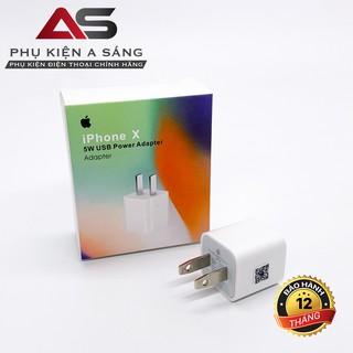 [Mã ELFLASH5 giảm 20K đơn 50K] Củ iPhone X Zin, hỗ trợ sạc nhanh [Bảo Hành 1 Tháng]