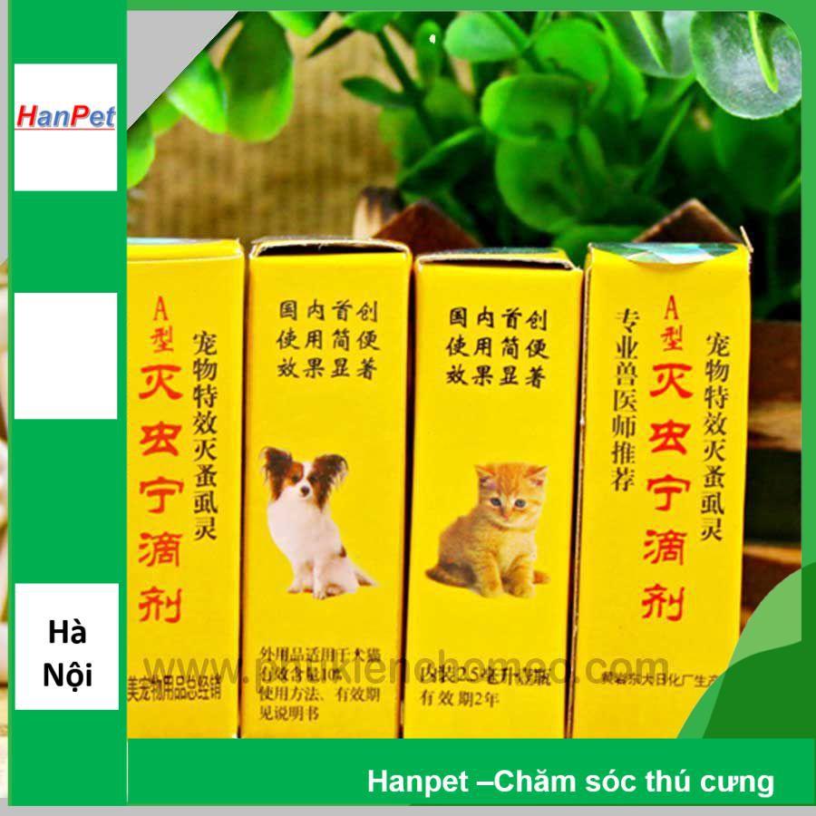 SP 464 - Thuôc nhỏ gáy chó mèo (hanpet 4711620) (hongkong)