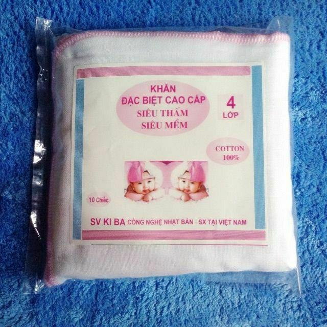 Gói 10 chiếc khăn sữa 4 lớp Kiba (lẻ=sỉ) - 14815541 , 2275632468 , 322_2275632468 , 40000 , Goi-10-chiec-khan-sua-4-lop-Kiba-lesi-322_2275632468 , shopee.vn , Gói 10 chiếc khăn sữa 4 lớp Kiba (lẻ=sỉ)