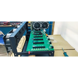 Khung máy đào 6-8-12VGA chuẩn từng cm Khung trâu khung dàn khung kín 4u