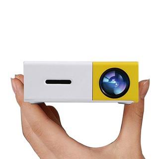 Máy chiếu mini di động, máy chiếu đèn led, tương thích HDMI, USB, Laptop