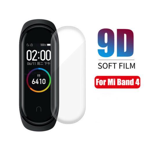 Set 1/5 miếng dán trong suốt bảo vệ màn hình vòng tay thông minh For Xiaomi Mi Band 4