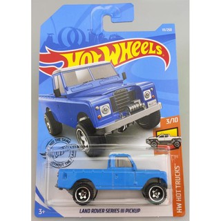 Xe mô hình Hot Wheels Land Rover Series III Pickup FYF07