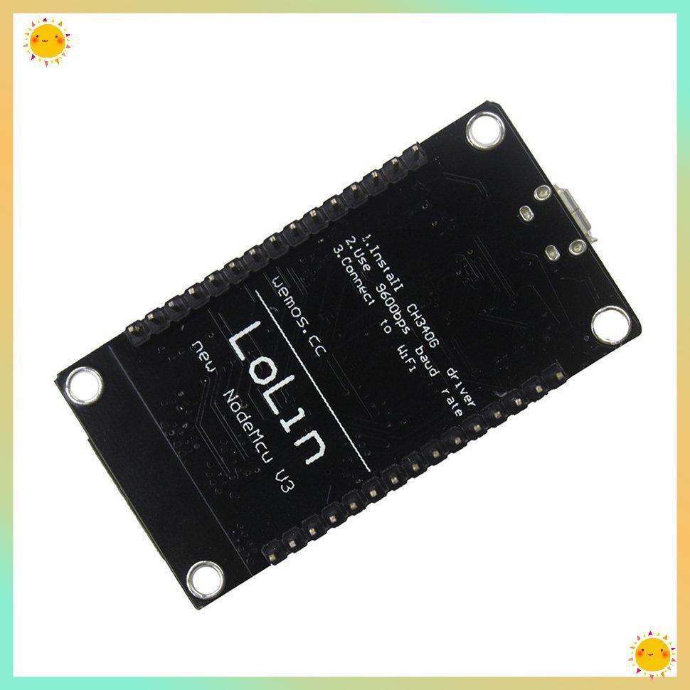 Bảng Mạch Phát Triển Thông Minh Esp8266 V3 Lua Ch340 Wifi Chuyên Dụng