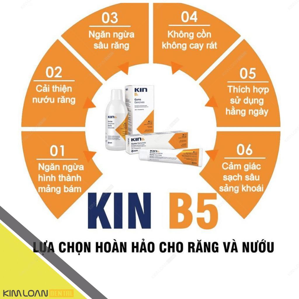 𝗣𝗧 🅲🅰🆁🅴   Kem đánh răng kin b5 làm sạch mảng bám, phục hồi nướu răng 125ml dùng hàng ngày