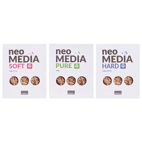 PHIÊN BẢN CẢI TIẾN NEO MEDIA PREMIUM (SOFT, PURE, HARD PREMIUM 1L ) VLL CHÍNH HÃNG AQUARIO HÀN QUỐC