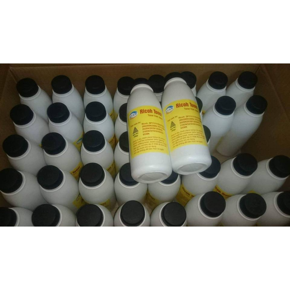 Combo 5 chai mực nạp Ricoh SP 111/112/200/210/212/213/310/320/325/3400 series hiệu HTG8