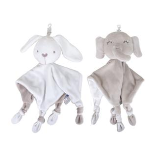 wit♣ Baby Soother Appease Towel Soft Plush Animal Doll Teether Infant Stuffed Toys
