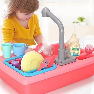 Bộ đồ chơi chậu rửa chén bát cho bé