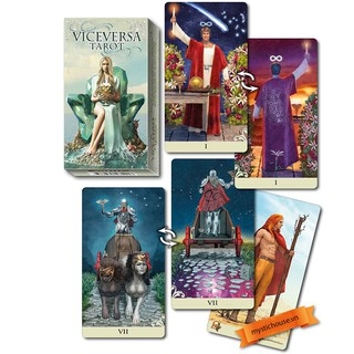Bộ bài Vice Versa Tarot bản deck shop hoangthu
