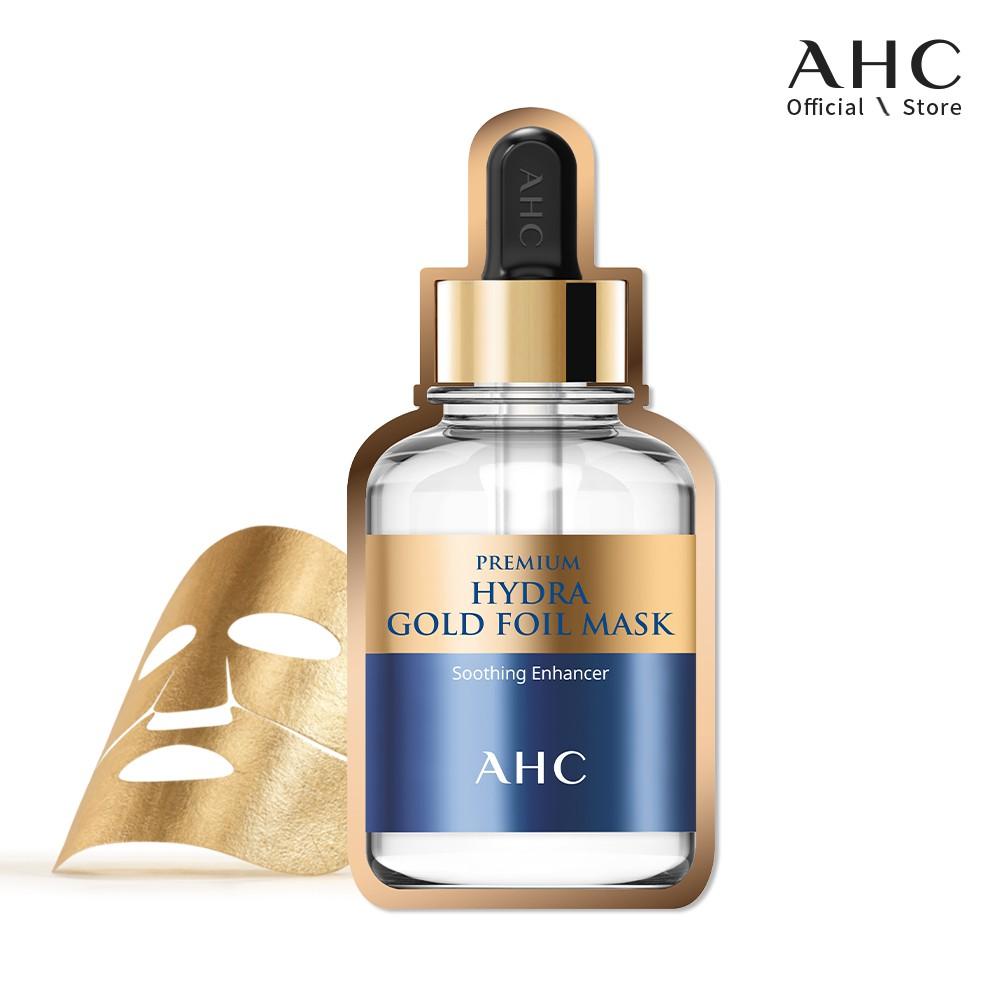 Mặt Nạ Vàng Chống Lão Hoá AHC Premium Hydra Gold Foil Mask (25g)