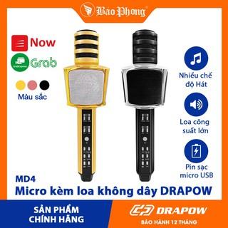 Micro kèm loa không dây DRAPOW - MD4