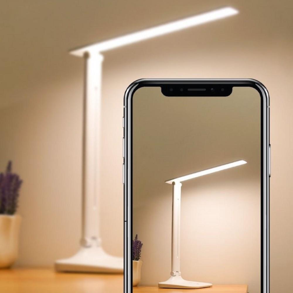 Đèn học để bàn, chống cận thị có LED ánh sáng vàng cảm ứng 3 chế độ khác  nhau ATILA SHOP - Đèn bàn