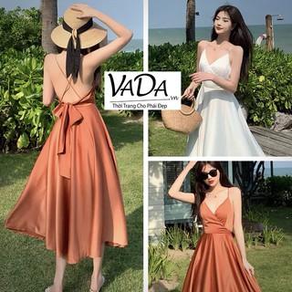 Đầm Maxxi Đi Biển, Dạo Phố, Đi Tiệc cuốn hút có mút ngực sẵn - Thời trang VADA (MX666) thumbnail