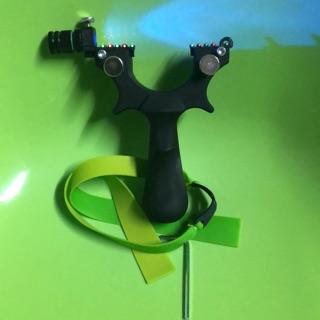 Ná Cao Su nhựa ABS có đèn UV (tặng 2 dây)
