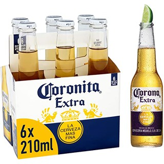 [HÀNG NHẬP KHẨU] Lốc 6 chai beer CORONITA 210ml nhập khẩu trực tiếp MEXICO