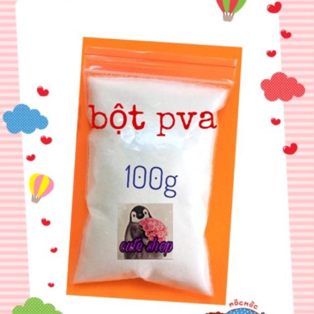 bột PVA- bột nấu keo trong làm slime