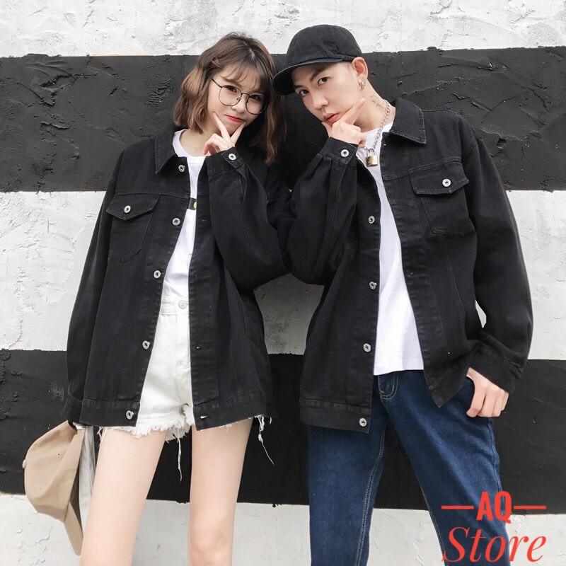 Áo Khoác Jean Nam Nữ Áo Bò Rin Jeans Nam Nữ Cao Cấp 💖FREESHIP + QUÀ TẶNG💖 Cao Cấp Đa Năng Nhiều Mẫu QSTORE