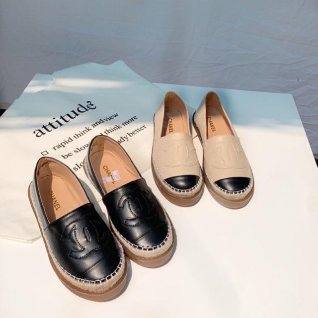Giày lười nữ chất da mềm M206 SHOEBYMAI