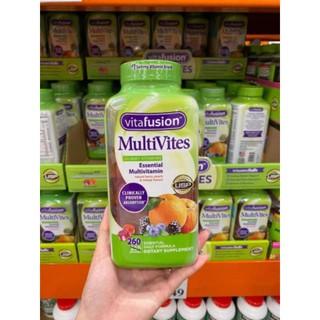🌻Kẹo Dẻo Đa Vitamin Vitafusion Multivites 260 viên