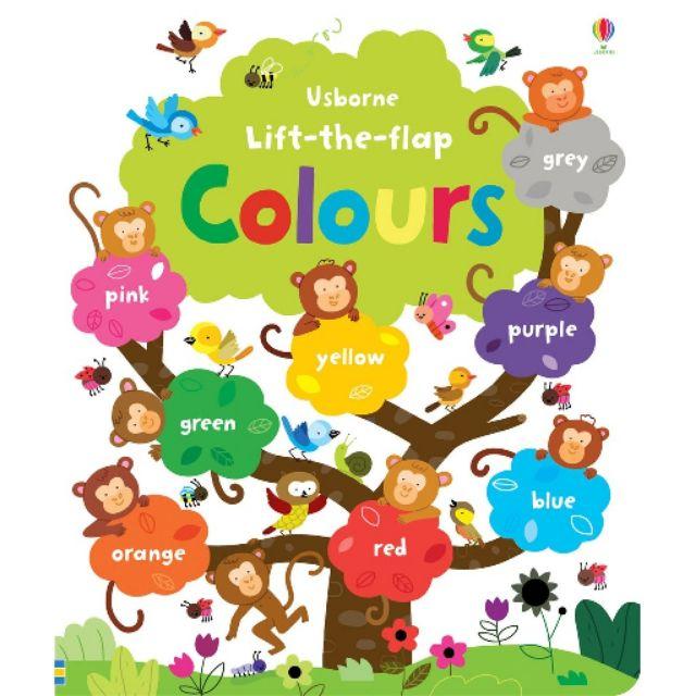 Sách Usborne - Lift the Flap Colours - 2848710 , 465901841 , 322_465901841 , 220000 , Sach-Usborne-Lift-the-Flap-Colours-322_465901841 , shopee.vn , Sách Usborne - Lift the Flap Colours
