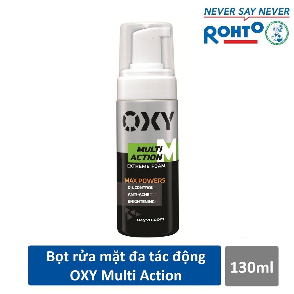 Bọt rửa mặt đa tác động dành cho Nam Oxy Multi Action 130ml - 2566784 , 1143662377 , 322_1143662377 , 105000 , Bot-rua-mat-da-tac-dong-danh-cho-Nam-Oxy-Multi-Action-130ml-322_1143662377 , shopee.vn , Bọt rửa mặt đa tác động dành cho Nam Oxy Multi Action 130ml