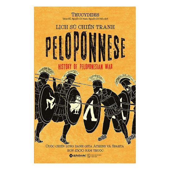 Sách Lịch sử chiến tranh Peloponnese - 13998440 , 1567100903 , 322_1567100903 , 259000 , Sach-Lich-su-chien-tranh-Peloponnese-322_1567100903 , shopee.vn , Sách Lịch sử chiến tranh Peloponnese