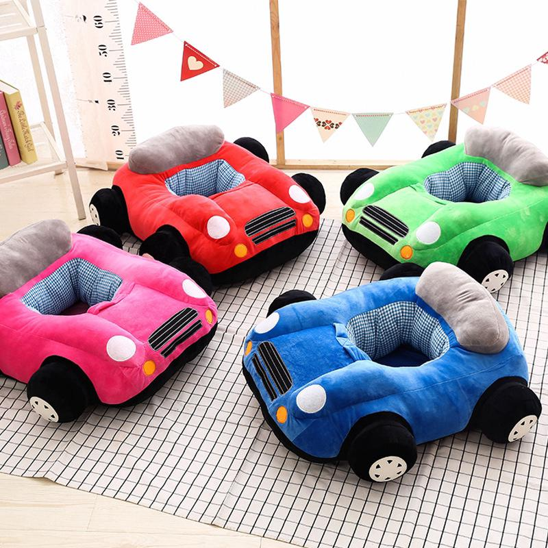 Cartoon Car Baby. Seat Plush Toys Children Security Resistant Sofa